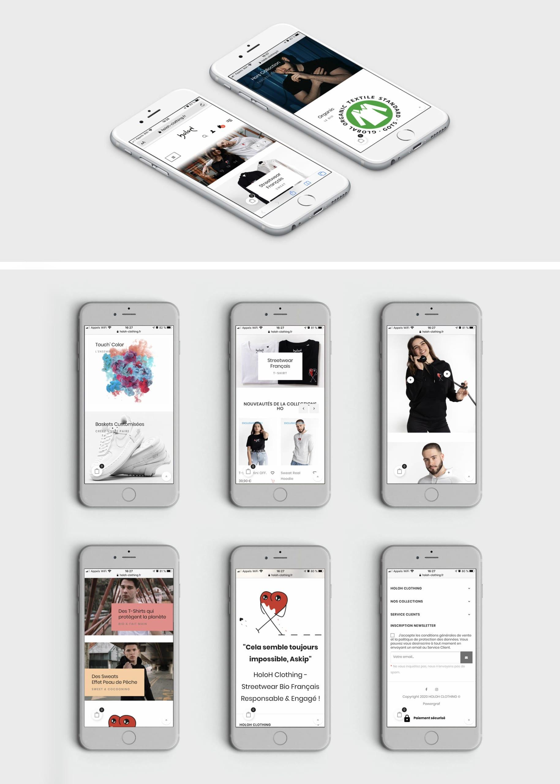 HoloH Clothing - Smartphone