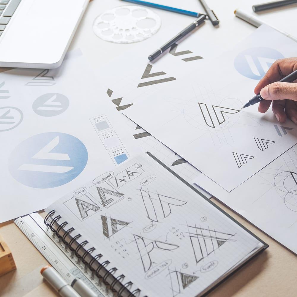 Studio de création : Logotype, charte graphique