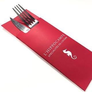 Gamme spécialisée Hôtellerie & Restauration : Pochette à couverts