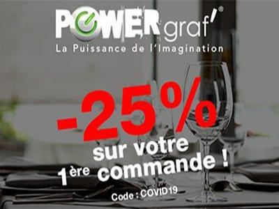 -25% - Gamme Hôtels & Restaurants